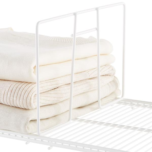 Ventilated shelf dividers